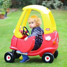 Read our latest review of the Little Tikes Cozy Coupe and win your own in our latest giveaway: http://scandimummy.com/little-tikes-cozy-coupe-review-giveaway/  You can also watch the video we've put together of all the fun Caspian's been having in his new favourite toy.  #littletikes #cozycoupe #toycar #play #playing #review #giveaway #win #competition #comperswanted #toy #car #fun #scandimummy #kcacols #pinklinker #coolmumclub #littlefierceones #garden #outdoors #driving