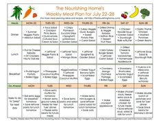 The Better Mom Bi-Weekly Meal Plan - New Meal Plan 52aaa