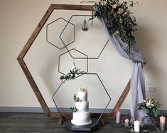 Wedding hexagon ideas Excited to share this item from my shop: Hexagon decor hoops, Geometric Wedding Decor. Wedding hexagon ideas The post Hexagon decor hoops, Geometric Wedding Decor. Geometric Decor, Geometric Wedding, Floral Wedding, Card Box Wedding, Our Wedding, Wedding Stuff, Wedding Decorations, Decor Wedding, Wedding Venues