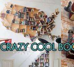 The Frisky - Photos - Home Inspiration: 10 Crazy Cool Bookshelves