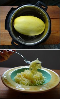 Instant Pot Spaghetti Squash with Duck Fat Apple Juice Glaze | Phoenix Helix  *I also include an oven/stovetop version if you don't have an Instant Pot