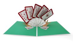 New to LovePopCards on Etsy: Royal Flush Pop Up Card Royal Flush Card Poker Pop Up Card Las Vegas Card Casino Card Poker Hand Card Bluff Winning Hand (13.00 USD)