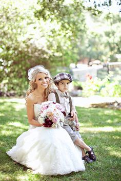 Ring Bearer. Must have this photo with my ring bearer :) although he will be in a little tux