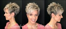 Here is the first hair tutorial (with many more to come😘) of my latest undercut pixie. Short Grey Hair, Short Hair With Layers, Short Hair Cuts For Women, Short Hair With Bangs, Short Hair Styles, Hair Bangs, Undercut Hairstyles Women, Curly Bob Hairstyles, Short Hairstyles For Women