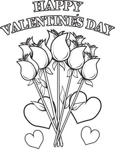 3 {NON-MUSHY} VALENTINES DAY COLORING PAGES | Valentine\'s Day ...