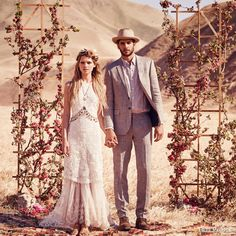 Free People Wedding Dresses — FPEverAfter Bridal Collection | Wedding Inspirasi