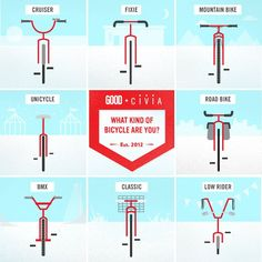 What kind of bike rider are you?