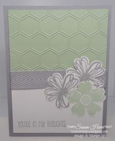 Flower Shop, Honeycomb, SUO, Stampin Up, susanstamps,wordpress.com