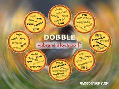 Dobble - vybrané slová