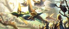 "Michael Knapp - ""Bird Racing"" from the movie Epic (Blue Sky Studios/Fox) - Digital Epic Animated Movie, Epic Movie, Epic 2, Blue Sky Studios, The Dark Crystal, First Art, Disney Films, Animation Film, Feature Film"