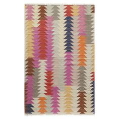 <p>Pops of bright colors give a modern twist to the traditional kilim patterns found in the Oriental Weavers Sphinx Brook Rug. The bold geometric designs will instantly add personality to any space. This rug offers exceptional depth of color, a silky hand and durable construction. The light colors and fluid abstract design bring a vintage touch that will open up your kitchen, living room or sunroom. The area rug is easy to keep clean with vacuuming regularly and spot cleaning ...