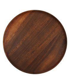 Acacia Large Round Plate