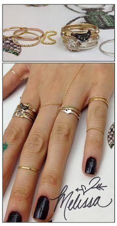 Dainty rings - Catbird NYC