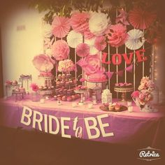 Bride to be / pink