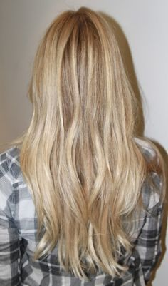 lowlights for natural blondes - Google Search