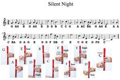 Easy Recorder Music Sheets for Kids #SilentNight #music #Musicsheets