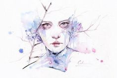 agnes-cecile Watercolor