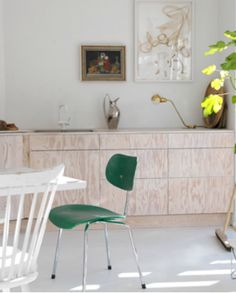 Keuken - multiplex    Scandinavian Retreat: Playing with plywood