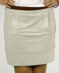 Roberta 107 / jesrey skirt by Justasix on www.bravoitalia.com