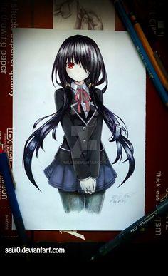 Kurumi in School Uniform ^^, by seiji0.deviantart.com on @DeviantArt