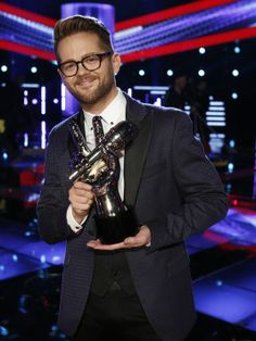Josh Kaufman-winner of The Voice 2014, and named Grand Marshal of the 2014 500 parade.