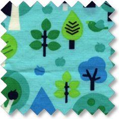 Tree poplin Mintgrøn Økotex standard 100 100% BOMULD Bredde: 112 cm.  - stof2000.dk