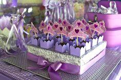 Purple Princess + Sofia the First Themed Birthday Party via Kara's Party Ideas KarasPartyIdeas.com #PrincessParty #SofiaTheFirstParty #ParytIdeas #Supplies (29)