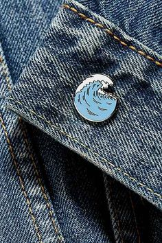 UO Wave Pin - Urban Outfitters