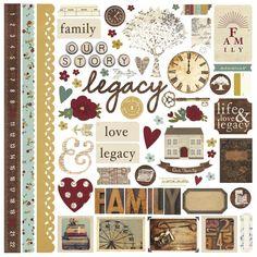 Legacy Fundamental Stickers