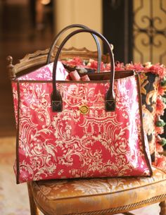 Chinoiserie all purpose tote bag by Anna Griffin