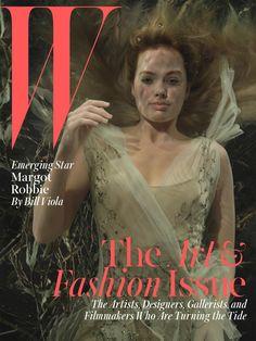 Margot Robbie Covers W Magazine December Issue