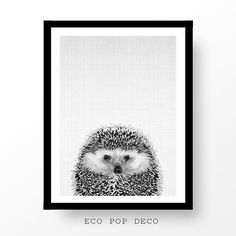 Print 77 - Hedgehog Print, woodlands nursery wall art, modern minimal black and white animal, kids room decor, large poster.  Get SAVE 30% when you buy three or more printables! Just use the code SAVE30 at checkout.  PLEASE NOTE, THIS IS A DIGITAL DOWNLOAD ONLY. No physical product will be shipped and the frame is not included.   ❤ INCLUDED FILES ❤  Instruction sheet  1. 16x20inc  2. 4:5 ratio for printing 4x5inc // 8x10inc // 16x20inc // 40x50cm  3. 3:4 ratio for printing 6x8inc // 9x12inc…