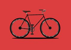 Bicycle - Vector on Behance
