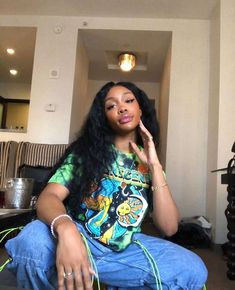 Discover recipes, home ideas, style inspiration and other ideas to try. Sza Singer, 90s Fashion, Fashion Outfits, Girl Fashion, Black Girl Aesthetic, Doja Cat, Poses, Everyday Outfits, Streetwear Fashion