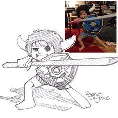 Jabbawookiee Sketch by Banzchan.deviantart.com on @deviantART
