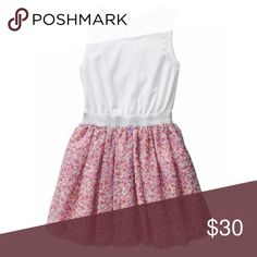 Floral Mix Tutu Dress Jersey top with tank straps and soft layered Tulle skirt with #floral Print. Elasticized waist with silver #glitter band. #Tulle skirt Is very full! NWT, size 4 years GAP Dresses Casual