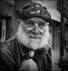 Gordon - The American Biker Project - Black and White Portraits