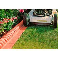 Kunststoff-Rasenkante »Innenecke Terracotta«