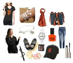 """""""Sf"""" by avablue3 on Polyvore featuring '47 Brand, Lizzy James, Forever Collectibles, Dooney & Bourke, Antigua, Alex and Ani, Game Time, New Era, RGB Cosmetics and Ilia"""