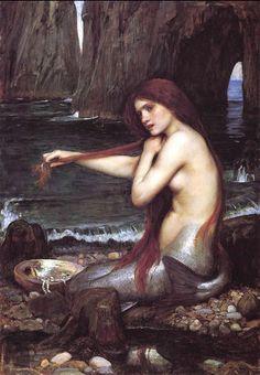 John William Waterhouse - Mermaid