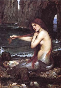John William Waterhouse - Mermaid
