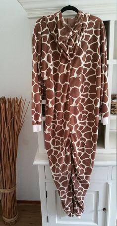 adult Onesie onesie Onesie pyjamas Jumpsuit Giraffe by OnesieJack