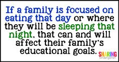 If a family is focus