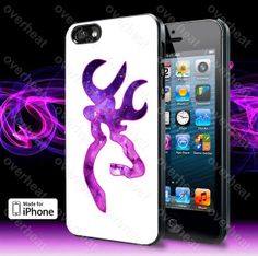 Love Browning Deer Camo Girl 3 Case For iPhone 5 5S 5C by overheat, $14.79