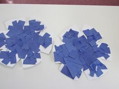 snowflake puzzles - links to other snowflake activities also
