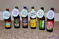 Easter Beer Hunt - Instead of hiding eggs, hide beer and send your man on a beer hunt!
