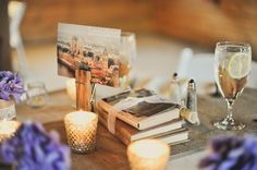 vintage travel wedding theme: name tables after cities we have visited or would like to visit together.