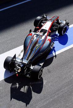 Kevin Magnussen @ 2015 #F1 Barcelona test