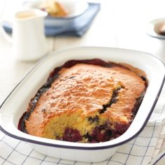 Mixed berry and almond pudding | Healthy Food Guide