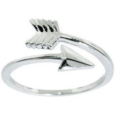 Shop for Eternally Haute Sterling Silver Adjustable Arrow Midi Knuckle Ring. Free Shipping on orders over $45 at Overstock.com - Your Online Jewelry Shop! Get 5% in rewards with Club O!